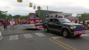 Charlevoix County Dems at the 2013 Boyne City parade
